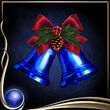 Blue Christmas Bells