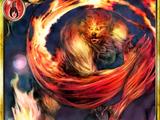 Flaming Werewolf