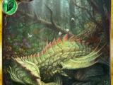 Slumbering Forest Dragon