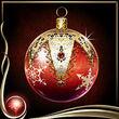 Red Christmas Ornament EX
