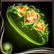 Green Heart Ring EX