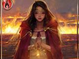(Tearful) Firebinding Maiden Sevina