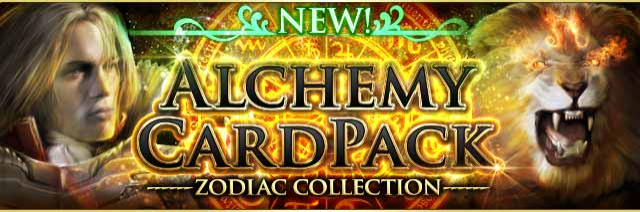 Alchemy Card Pack -Leo- Banner