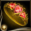 Yellow Heart Ring EX