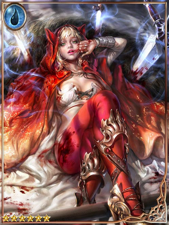 (Gore) Blood-soaked Red-Hooded Girl