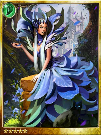 Blue Lily Witch Senage