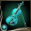 Turquoise Violin