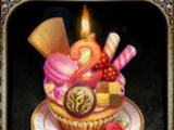 Enticing Anniversary Cake