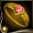 Yellow Heart Ring
