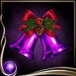 Purple Christmas Bells