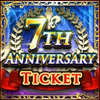 7th Anniversary Ticket