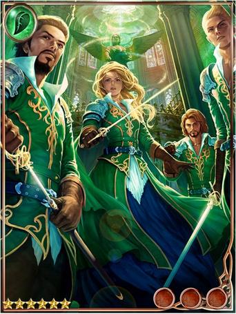 (Unit) Altruistic Jade Musketeers