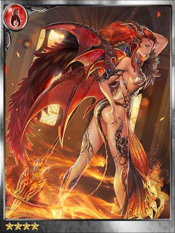 (Hellheat) Hellfire-clad Radmila