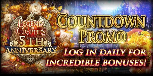 Countdown Login Promo