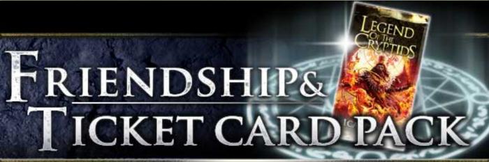 Friendship & Ticket Card Pack