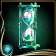 Turquoise Hourglass