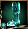 Turquoise Stein Boot