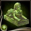 Green Sphinx Figure
