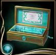 Turquoise Music Box
