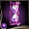 Purple Hourglass