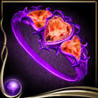 Purple Heart Ring EX