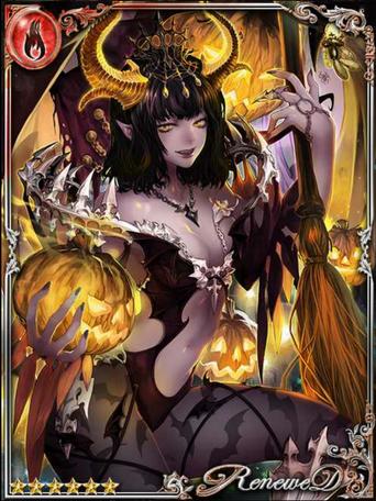 (Temper) Hel, Jack-o'-Lantern Queen