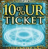 10% UR Ticket