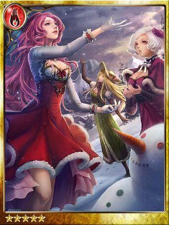 (Snowfall) 3 Playful Sisters