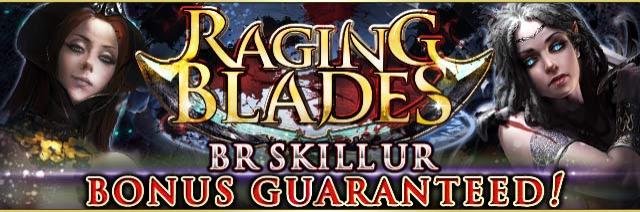 Raging Blades Banner