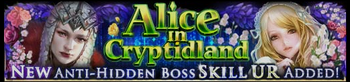 New Alice in Cryptidland