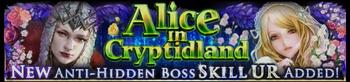 New Alice in Cryptidland