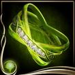 Green Sparkling Ring EX