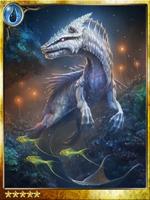 Ocean Dragon in the Depths
