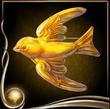 Yellow Brooch