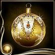 Yellow Christmas Ornament EX