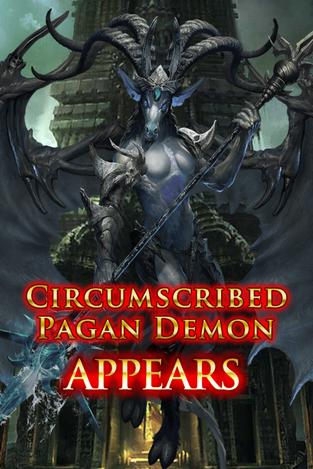 Circumscribed Pagan Demon Appears