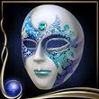 Blue Masquerade Mask EX