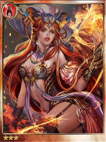 Hellfire-clad Radmila