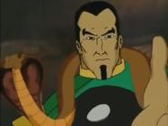 Zodiac Master and his pet snake