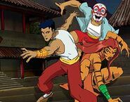 The Legend Of The Dragon Three Great Friends