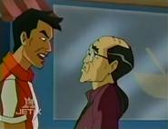Wang Lee yelling at the Director