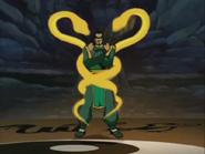 Zodiac Master transforming
