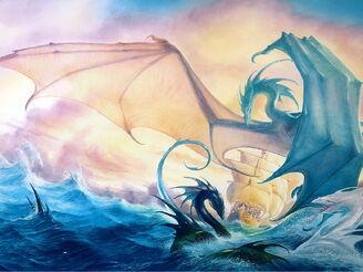 Fantasy Sea dragons 021238