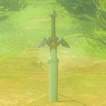 BotW Hyrule Compendium Master Sword