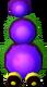ALBW Purple Mini-Moldorm Model