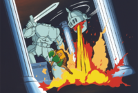 AoL Link Fighting Jermafenser Artwork