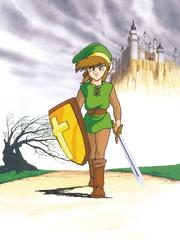 AoL Link in Hyrule Artwork