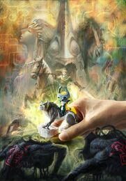 TPHD Wolf Link amiibo Promotional Art