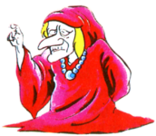 TLoZ Old Woman Artwork