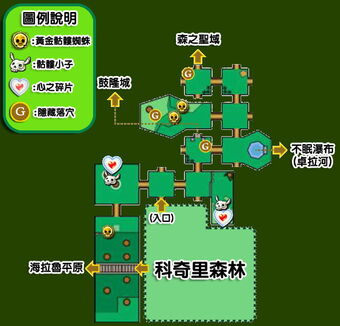 OoT Lost Woods(map)